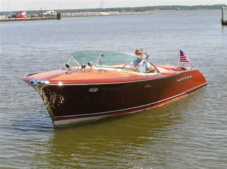 riva speedboat - these boats are beautifully made. A work of art in themselves.
