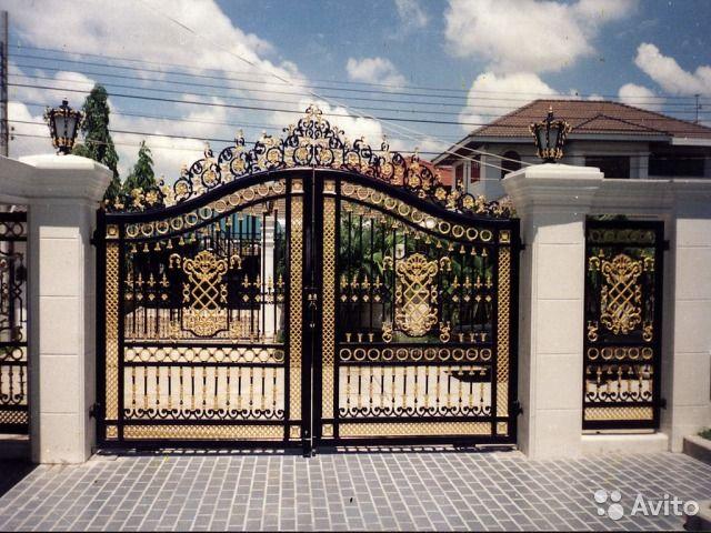 Изготовление металлоконструкций (ворота, заборы и— фотография №4