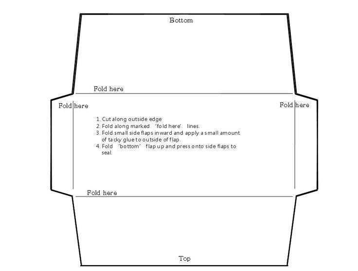 Money envelope template | Envelopes | Pinterest