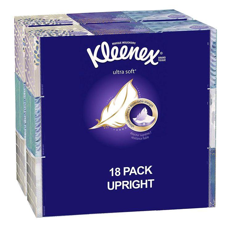 Kleenex Ultra Soft Facial Tissue Cube (18 boxes 75 tissues per box) $16.49 #LavaHot http://www.lavahotdeals.com/us/cheap/kleenex-ultra-soft-facial-tissue-cube-18-boxes/206683?utm_source=pinterest&utm_medium=rss&utm_campaign=at_lavahotdealsus