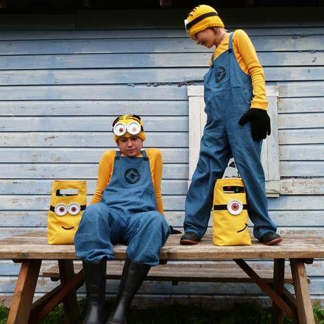 Minions-Kostüme selber machen