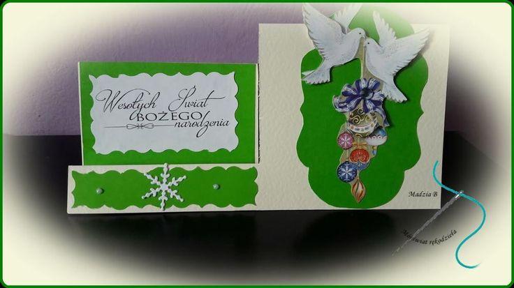 Mój świat rękodzieła; christmas card