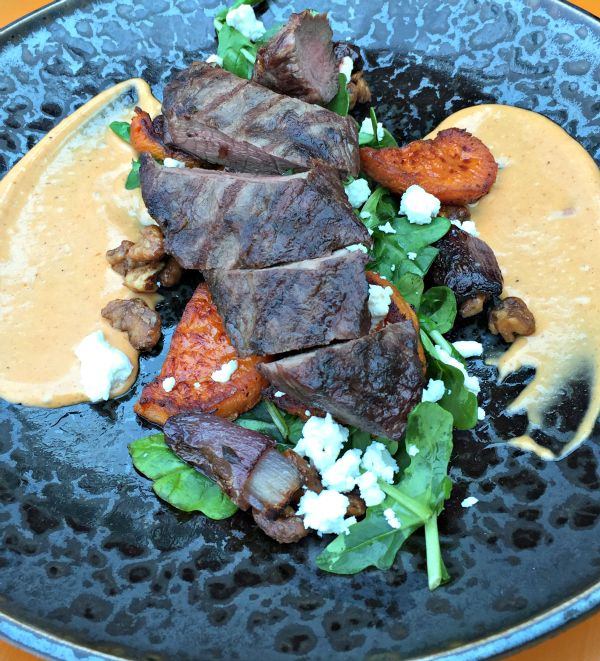 Cape Grim beef from Pier One Restaurant and Bar, Wrest Point #Hobart #Tasmania ~ photo and article for think-tasmania.com