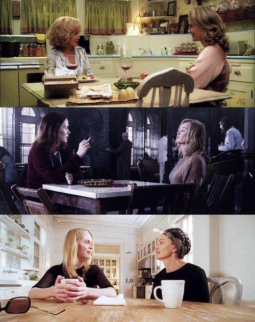 Jessica Lange & Sarah Paulson through American Horror Story seasons: murder house, Asylum & Coven