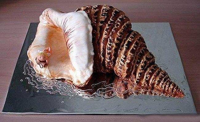 "Торт ""Морская ракушка""."