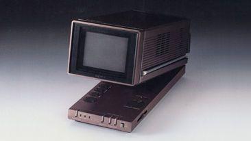 Sony KV-4P1 Micro Trinitron Color Monitor (1980)