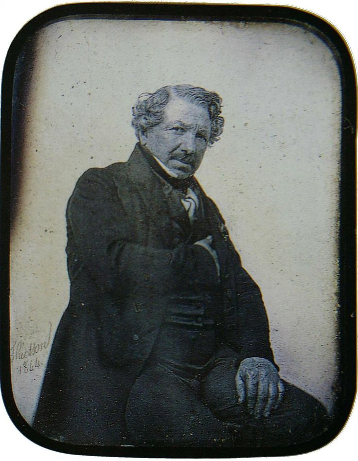 "Louis Daguerre. Inventor. Photographer. Helped create the photographic process.  The prints created from his process were called Daguerreotypes, after him.  Hawthorne references these and uses them as a symbol in ""The House of the Seven Gables""."