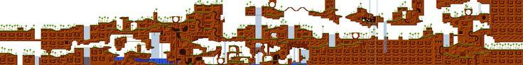 Sonic Mania Level Maps