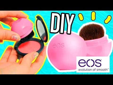 DIY EOS MAKEUP BRUSH!! Carry your EOS brush on the go! - YouTube