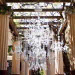 Tableau de chandelier per solennizzare un matrimonio dallo stile imperiale