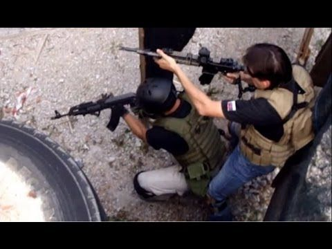 Tactical Training   CQB Stage - YouTube