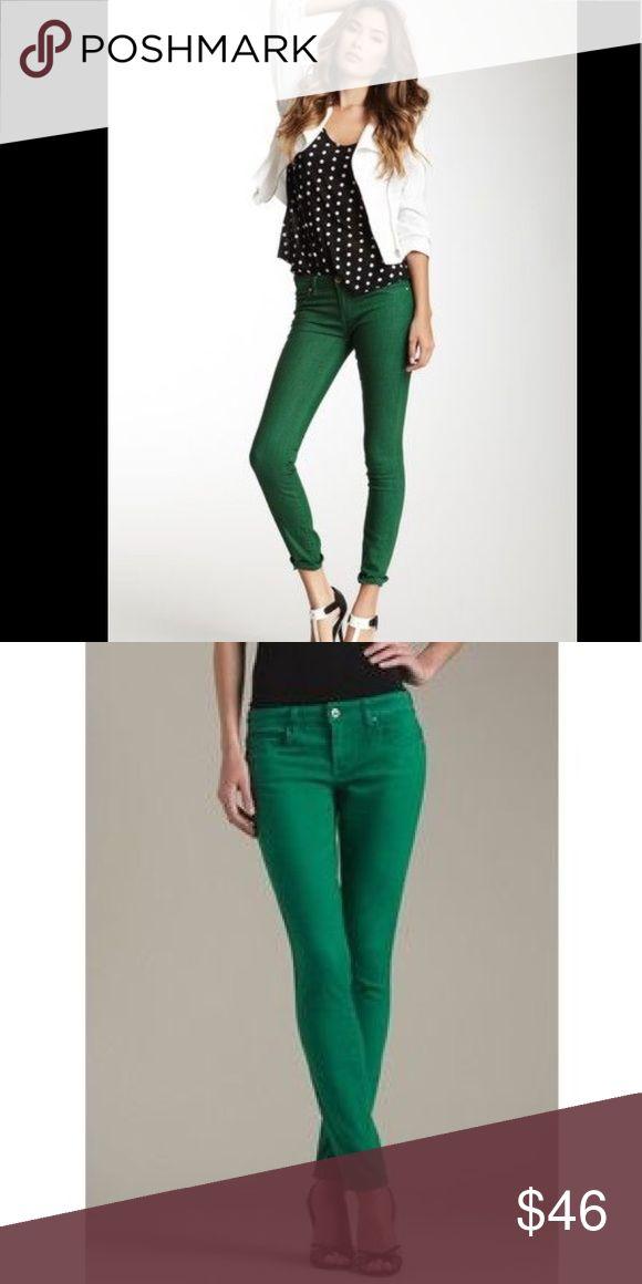 Blank Denim Green Skinny Jeans Never worn Blank NYC Pants Skinny