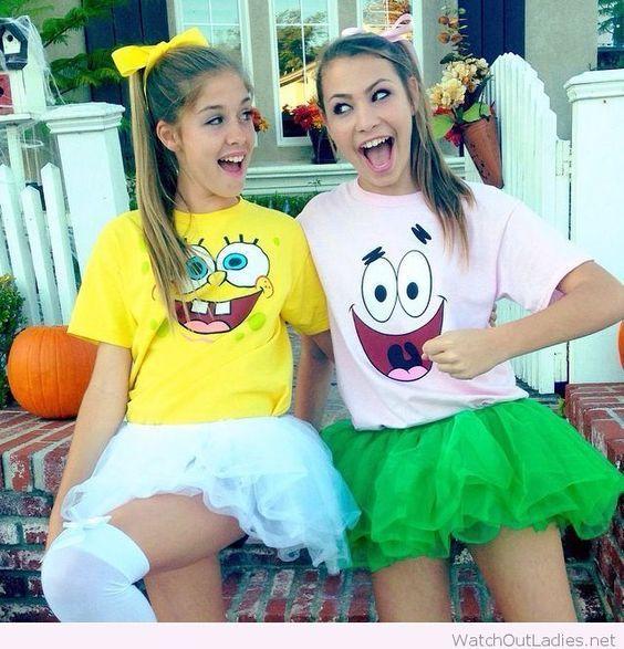 Spongebob and Patrick Costumes.