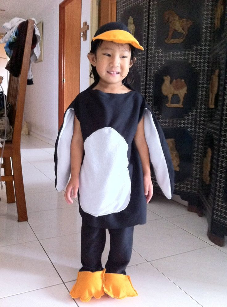 Penguin Halloween Costume For Toddler