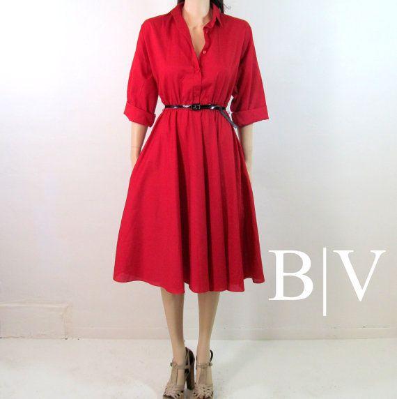 80's Dress Medium 90's Dress Medium 80's by BeatniksVintage