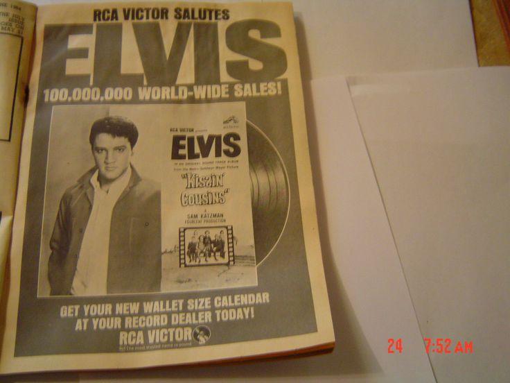 ELVIS,THE BEATLES ,PHOTOS,SIGNATURE COPIES -NOT ORIGINAL,1964,GOOD ,G+ | eBay