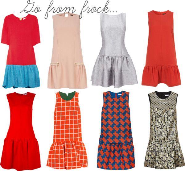 Drop Waist Dresses