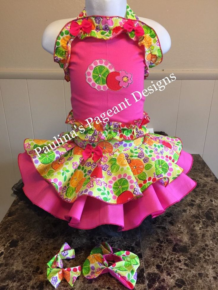 National Pageant Spring Summer Citrus Casual Wear Dress 18mos-3t   Clothing, Shoes & Accessories, Baby & Toddler Clothing, Girls' Clothing (Newborn-5T)   eBay!