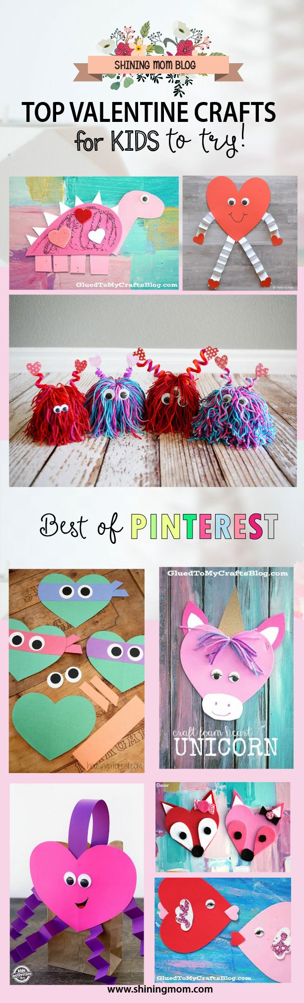 Best Of Pinterest 40 Super Fun Valentine S Day Crafts