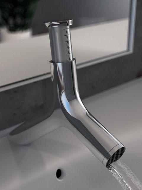 Un robinet design signé par Dennis Kulage et Michael Scherber qui vous permettra de réaliser des économies d'eau