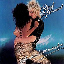 Rod Stewart's album: Blondes Have More Fun