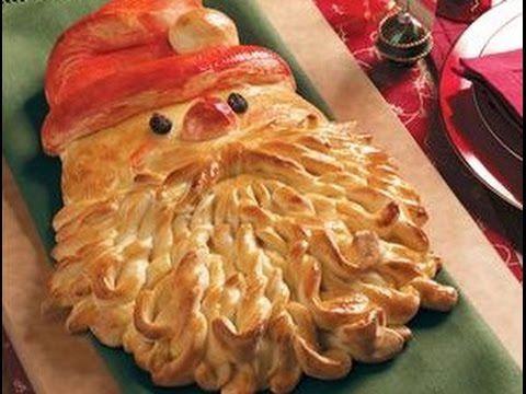 Новогодний пирог Дед Мороз