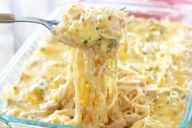 This chicken spaghetti is not long ANY other you've ever tried. It is a Country Cook original and it is the best one you will ever eat!