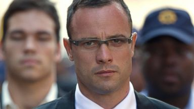 The Trial of Oscar Pistorius, the Blade Runner, ~ South Africa Mar/Apr.  Pistorius is on trial for the murder of his girlfriend, Reeva Steenkamp.