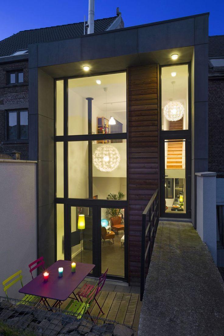 Préférence Les 25 meilleures idées de la catégorie Maison étroite sur  KJ89