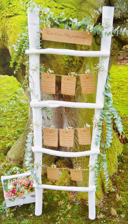 Sitzplätzen / Tischplan Leiter für Hochzeiten im…