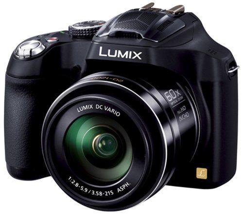 Amazing Panasonic LUMIX DMC-FZ70 16.1 MP Digital Camera with 60x Optical Image Stabilized Zoom and 3-Inch LCD (Black)