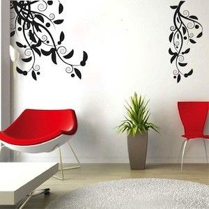 two adjustable adornment decals
