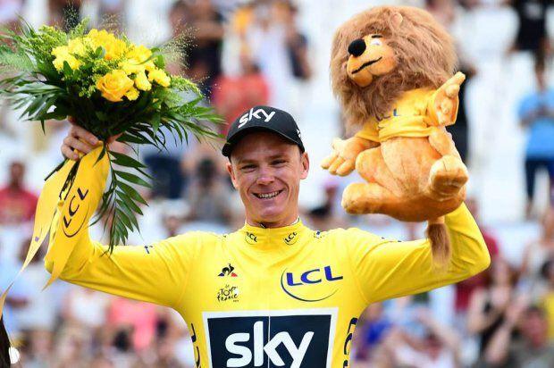 PARIGI - Il britannico Chris Froome ha vinto per la quarta volta un Tour de France. Il successo di Froome verrà ufficializzato oggi durante la 21a e ultima