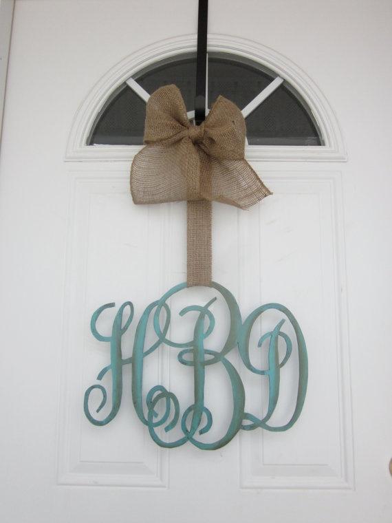 Door Monogram