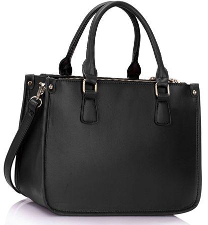 Black handbag for girl or women.  #shopperbag #bighandbag http://www.brytyjka.pl/torba-damska-shopper-bag-megan-black-id-1167.html