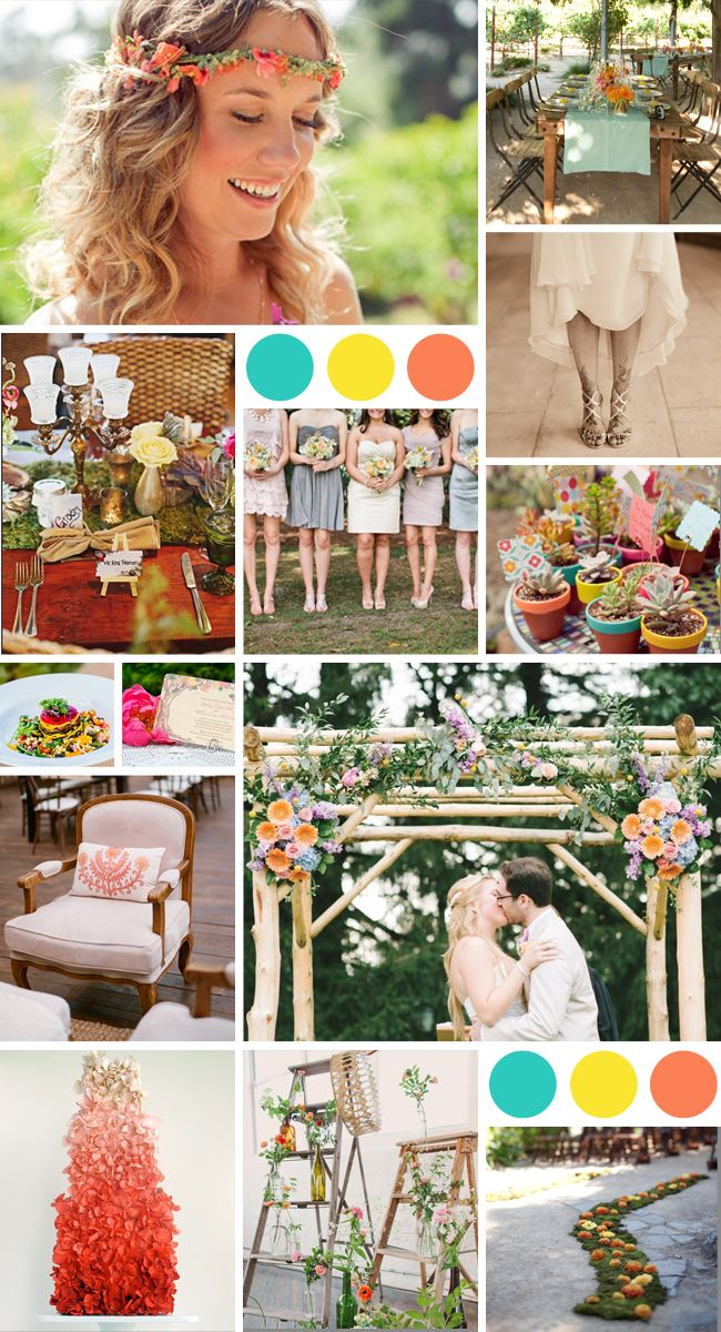 Coachella Wedding Inspiration // Featured: The Knot Blog