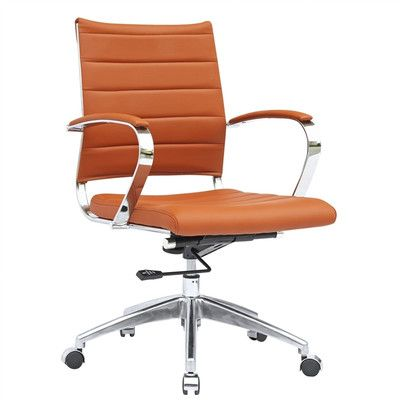 $183 Fine Mod Imports Sopada Mid-Back Conference Office Chair & Reviews | Wayfair