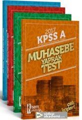 2017 KPSS A Grubu Yaprak Test Seti İsem Yayınları