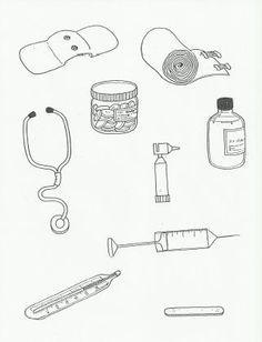 kleurplaten dokterstas