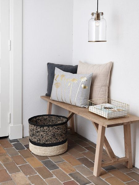 Las 25 mejores ideas sobre bancos de madera en pinterest y - Ideas de recibidores ...