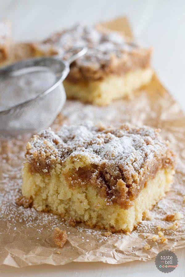 Crumb cake vanille