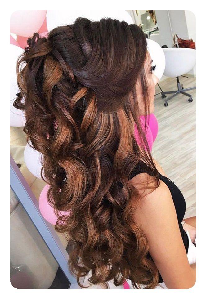 71 Peinados De Dama De Honor Unicos Para El Gran Dia Largo Peinados Peinados Para Boda Peinados Para Damas De Honor Peinados Elegantes