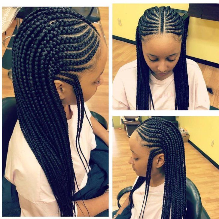 """1,157 Likes, 2 Comments - Nara African Hair Braiding (@narahairbraiding) on Instagram: """"@marlyshairbraiding 919-878-8851 #braids #protectivestyles"""""""