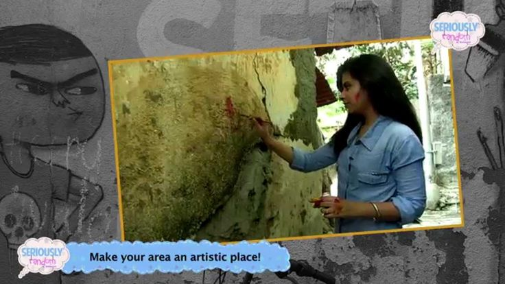 Graffiti Special || Seriously Random With Geetanjali