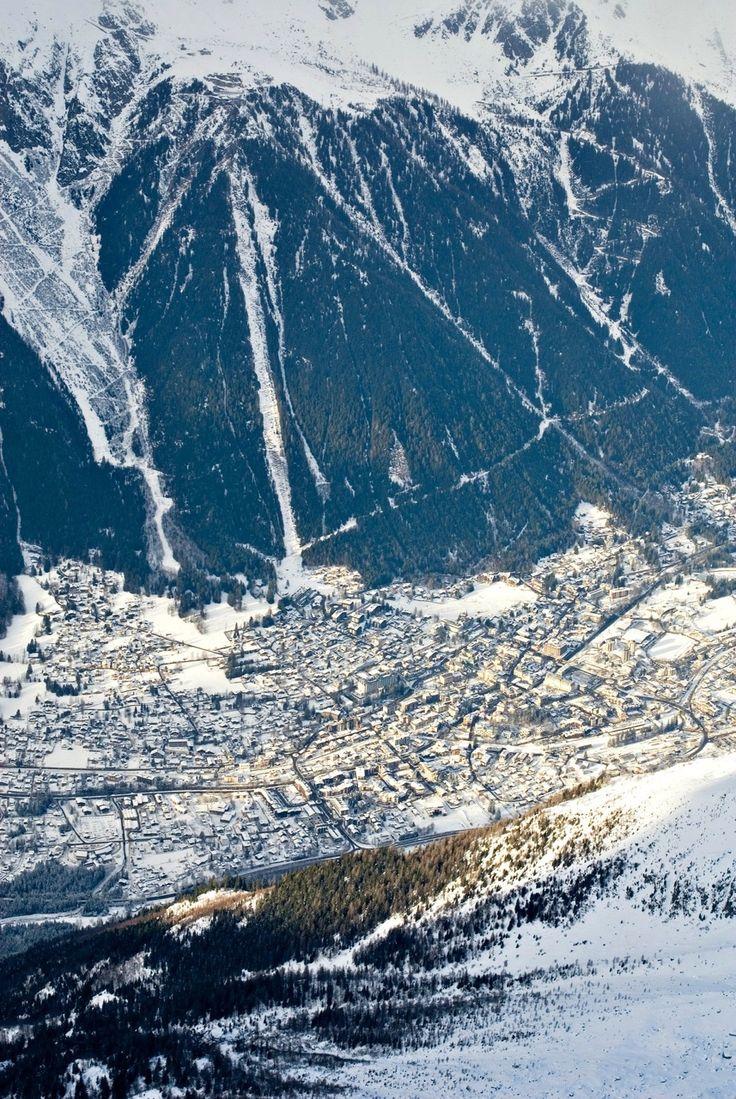 Chamonix, France  www.luxuryaccommodationsblog.com/post/64345338813/best-ski-resorts