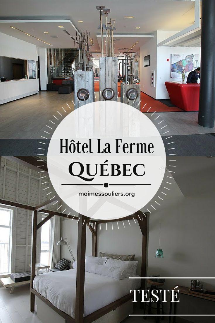 Un weekend à l'Hôtel La Ferme, à Baie St-Paul, dans la région de Charlevoix