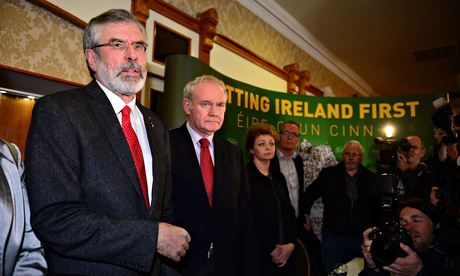 Gerry Adams freed without charge after questioning over McConville case