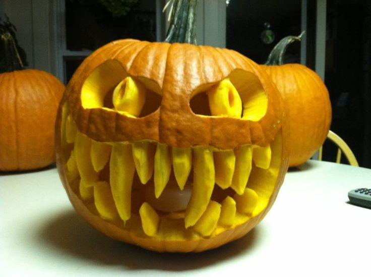 scary pumpkin carving ideas ideas for spooky carved pumpkins - Pumpkin Halloween Ideas
