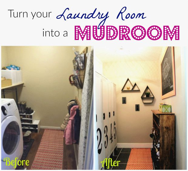 Turn Laundry Room Into Mudroom  Mudroom  Organizing Ideas  Shoes And  Jackets  Lockers