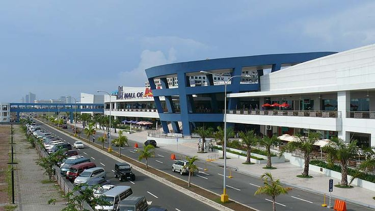 SM Mall of Asia in Pasay City, PH